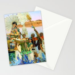 "Sir Lawrence Alma-Tadema ""The finding of Moses"" Stationery Cards"