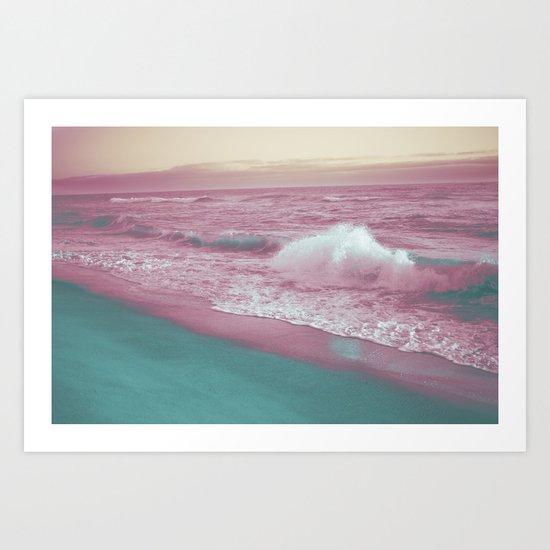 Pop Art Ocean Art Print