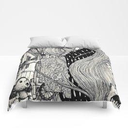 Old attic spirit Comforters