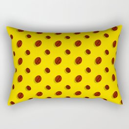 Amazed Coffee Beans Rectangular Pillow