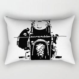 Simona The Scrambler Rectangular Pillow