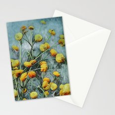 Summers Yellow Stationery Cards