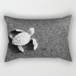 Guatemala - Sea Turtle to the Sea Rectangular Pillow