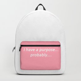 probably: pastel Backpack