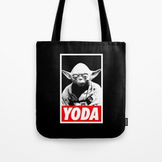 Obey Yoda (yoda text version) - Star Wars Tote Bag