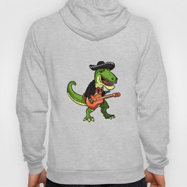 T Rex Mariachi Cinco De Mayo graphic Dinosaur Fiesta Gift Hoody