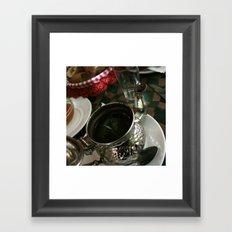 Ceremony of the tea Framed Art Print