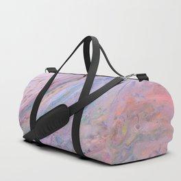 Pink Galaxy Duffle Bag