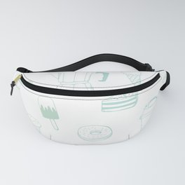 Coffee and Dessert Fanny Pack