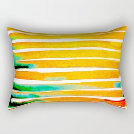 For Africa The Land of Gold Rectangular Pillow
