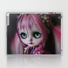 LITTLE OCTOPUS CUSTOM BLYTHE ART DOLL PINK NAVY Laptop & iPad Skin