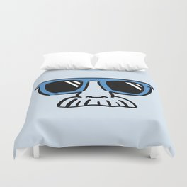 Too Cool (blue cyan) Duvet Cover