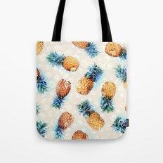 Pineapples + Crystals  Tote Bag