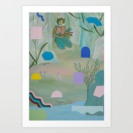 Gather Art Print
