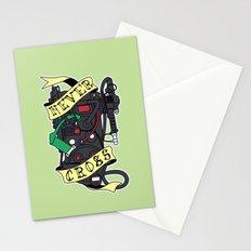 Never Cross Stationery Cards