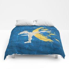 Kickin' It (An Homage To Chun-Li) Comforters