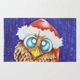 Owl I want for Christmas Rug