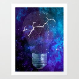Broken Light Art Print