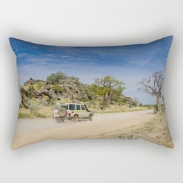 Leopold Downs Road Rectangular Pillow