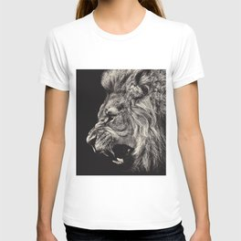 Angry Male Lion T-shirt
