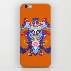 Toon Rorschach I iPhone & iPod Skin