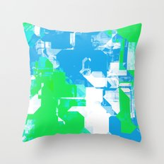 Light and Peace Throw Pillow
