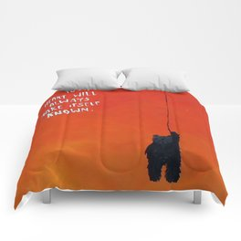 Your heart will always make itself known BEAR Comforters