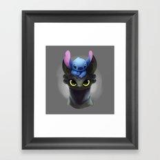 Best Pals Framed Art Print