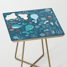Sea creatures 004 Side Table