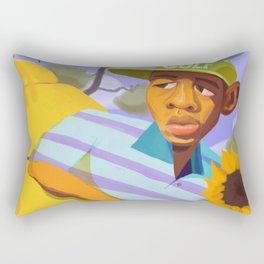 Scum F*ck Flower Boy Rectangular Pillow