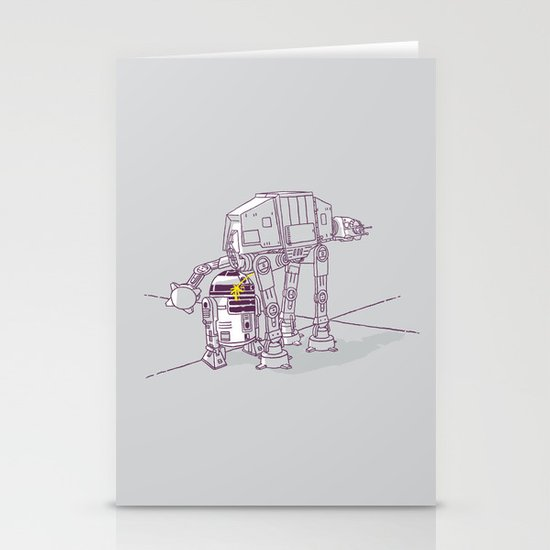 Not quite a fire hydrant Stationery Cards