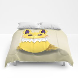 Evolution Bobbles - Jolteon Comforters