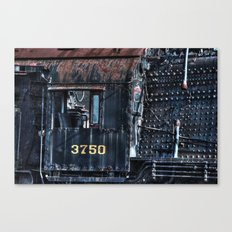 Train Cabin Canvas Print