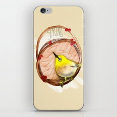 Spring birdy / Nr. 1 iPhone & iPod Skin