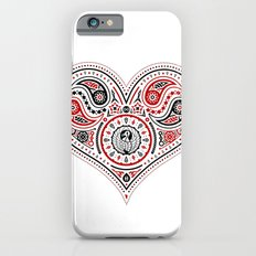 83 Drops - Hearts (Red & Black) iPhone 6s Slim Case