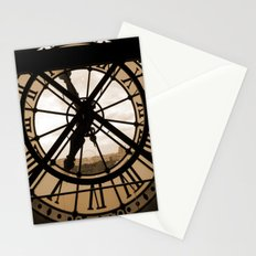 Parisian time Stationery Cards