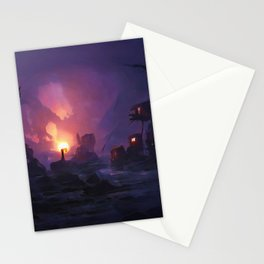 A Goblin's Discovery Stationery Cards