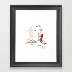 vince Framed Art Print