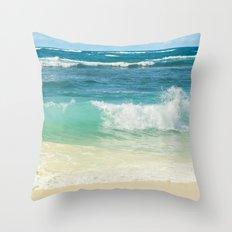 Summer Sea Throw Pillow
