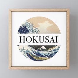 Hokusai Framed Mini Art Print