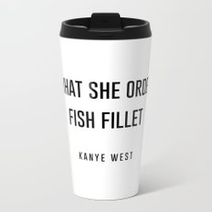 Fish fillet Metal Travel Mug
