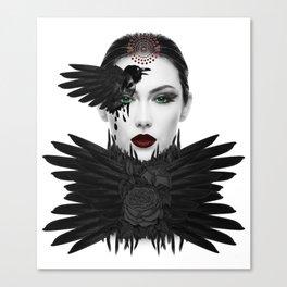 Weeping Gaia Canvas Print