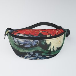 "Paul Cezanne ""Delft vase with flowers"" Fanny Pack"