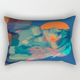 Muse Of The Mountains Rectangular Pillow