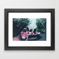 Art Print by Ophelie Rondeau - #ophelieandthegirls | March 2015 Framed Art Print