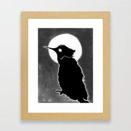 Avian night Framed Art Print