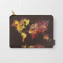world map 63 Carry-All Pouch
