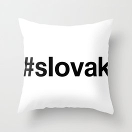 SLOVAK Throw Pillow