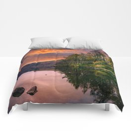 By the Lake Side Comforters