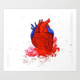 The Tell Tale Heart Art Print